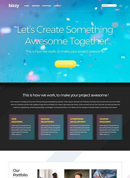 Web Development Website Template