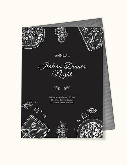 Annual Dinner Invitation Download
