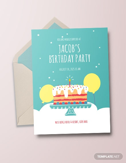 15 Printable Birthday Party Invitations