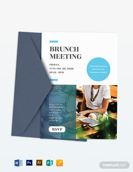 Business Email Invitation Template