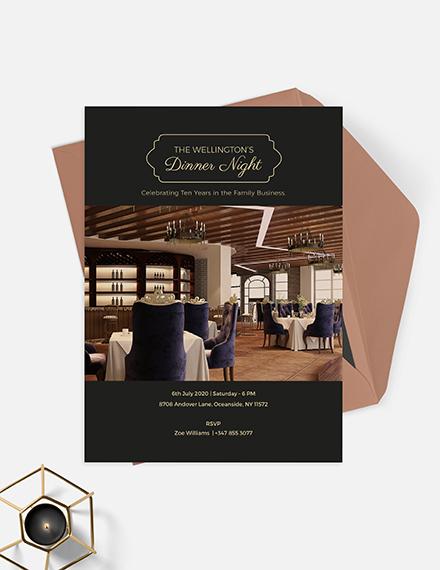 Corporate Invitation Card Download