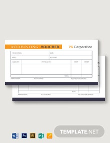 Accounting Voucher Template