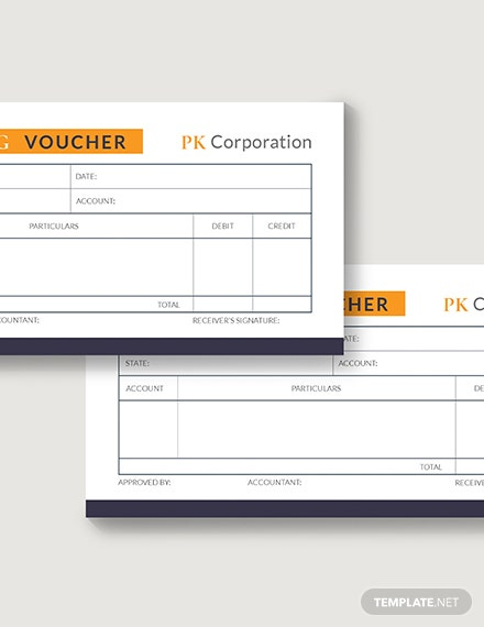 Sample Accounting Voucher