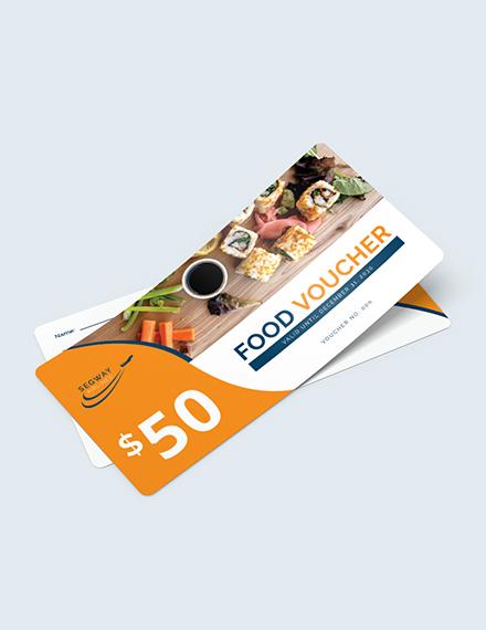 Airplane Food Voucher Download