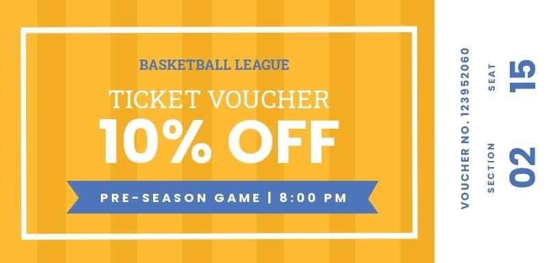 Basketball Ticket Voucher Template.jpe
