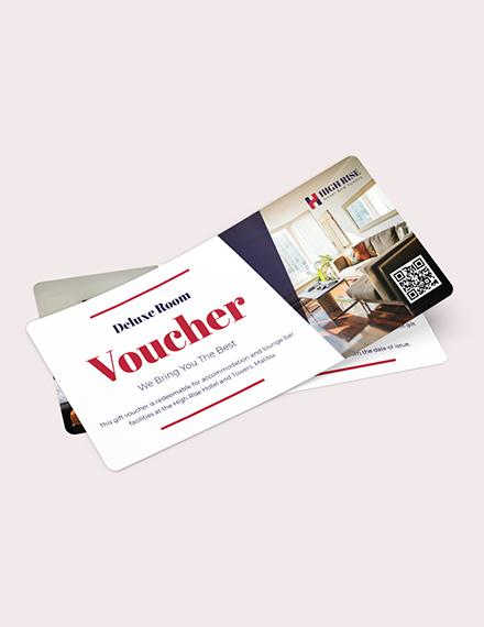 Blank hotel Voucher Download