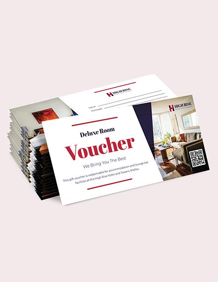 Sample Blank hotel Voucher