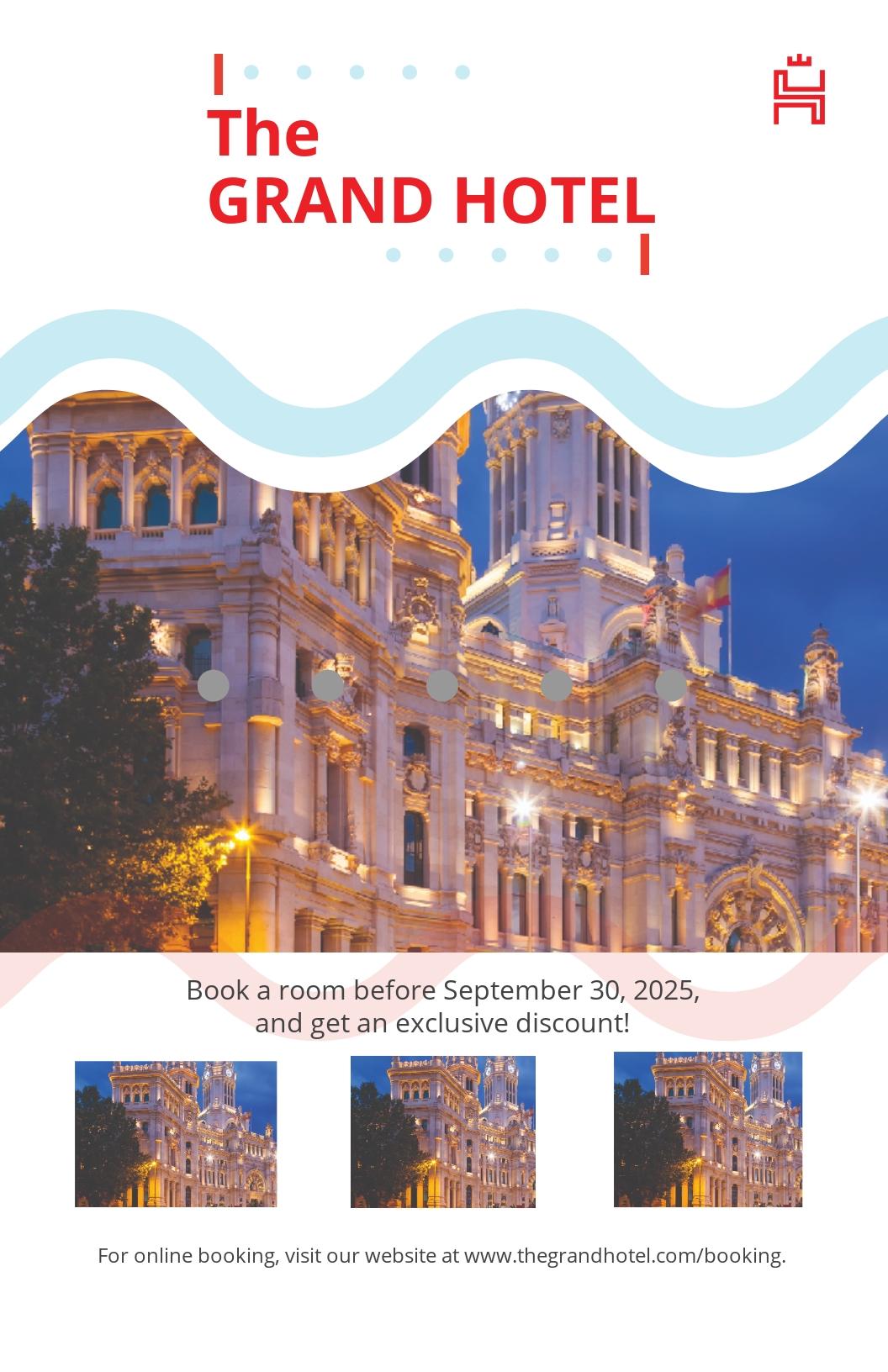 Grand Hotel Poster Template.jpe