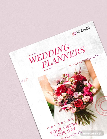 Sample Wedding Planners Poster