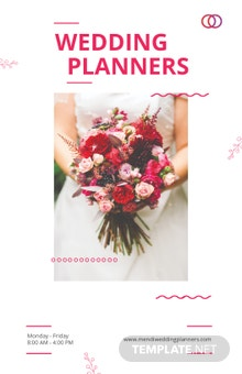 Wedding Planners Poster Template