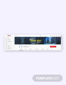 Free YouTube Channel Gym Template