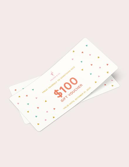 Cash Gift Voucher Download
