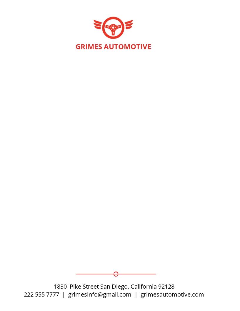 Automotive Business Letterhead Template.jpe