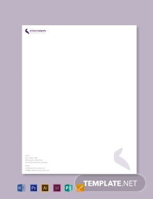 Civil Contractor Letterhead Template