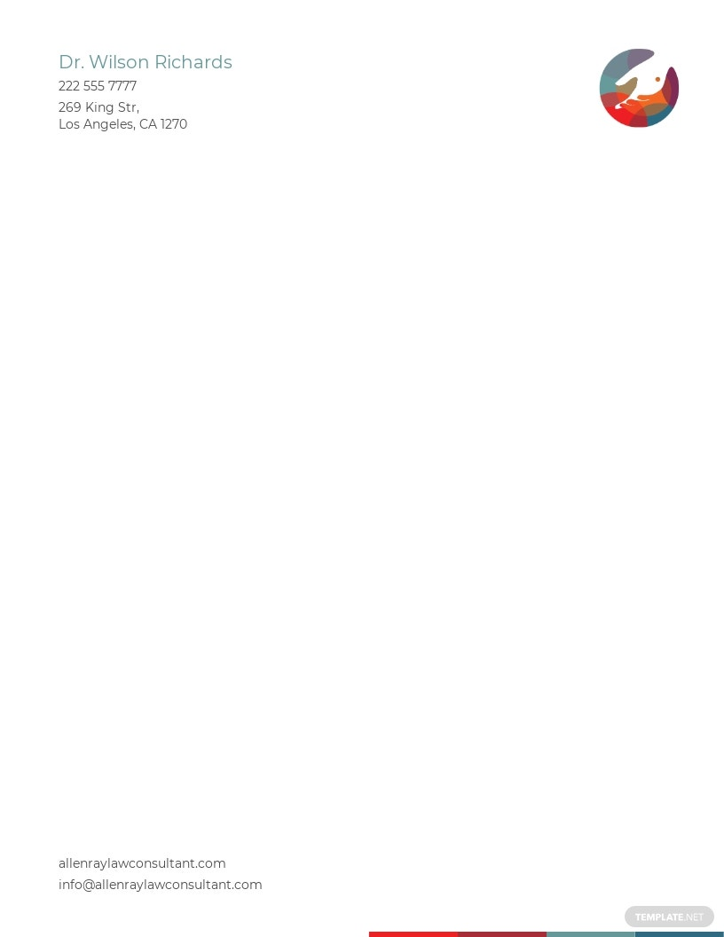 Doctors Office Letterhead Template.jpe
