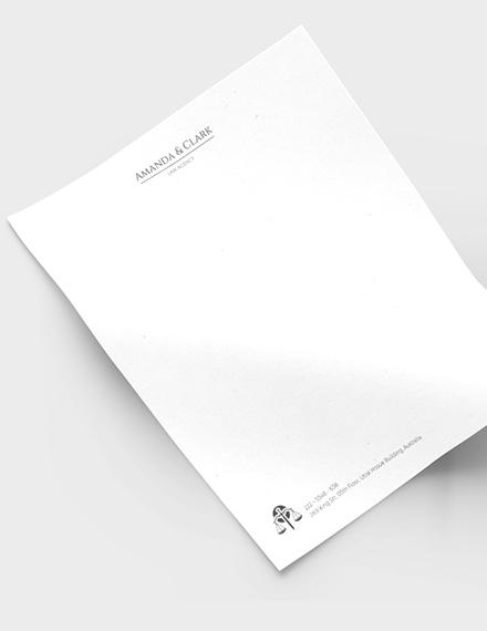Legal Letterhead Download
