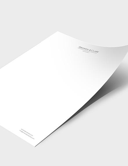 Sample Legal Letterhead