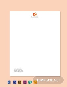Trucking Company Letterhead Template