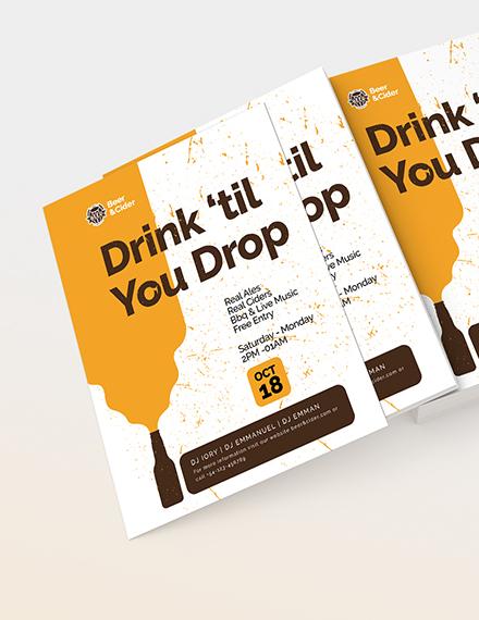 Beer Festival Flyer Download