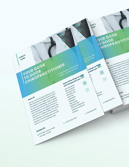 Chiropractor Flyer Download