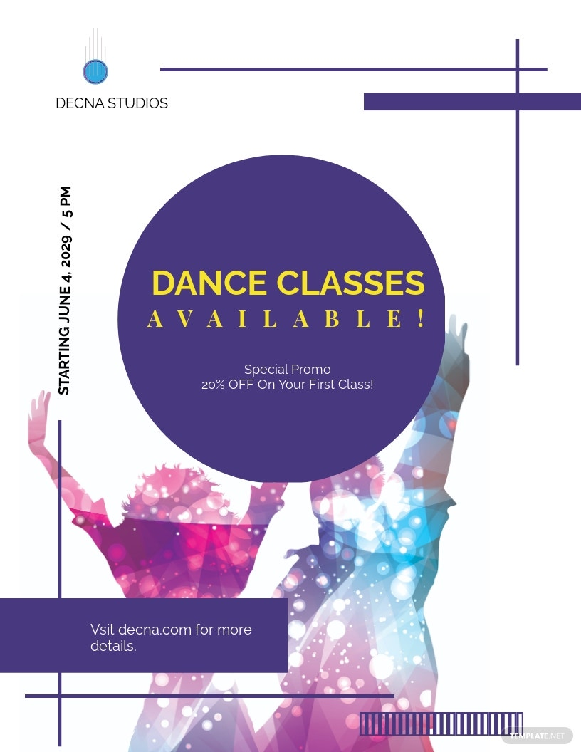 Dance Studio Flyer Template.jpe