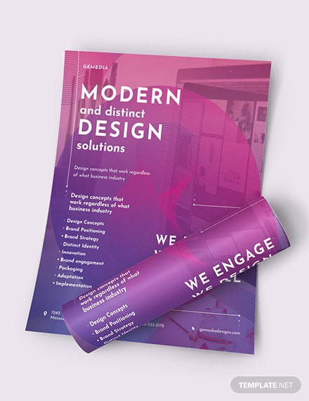 Design Company Flyer Download