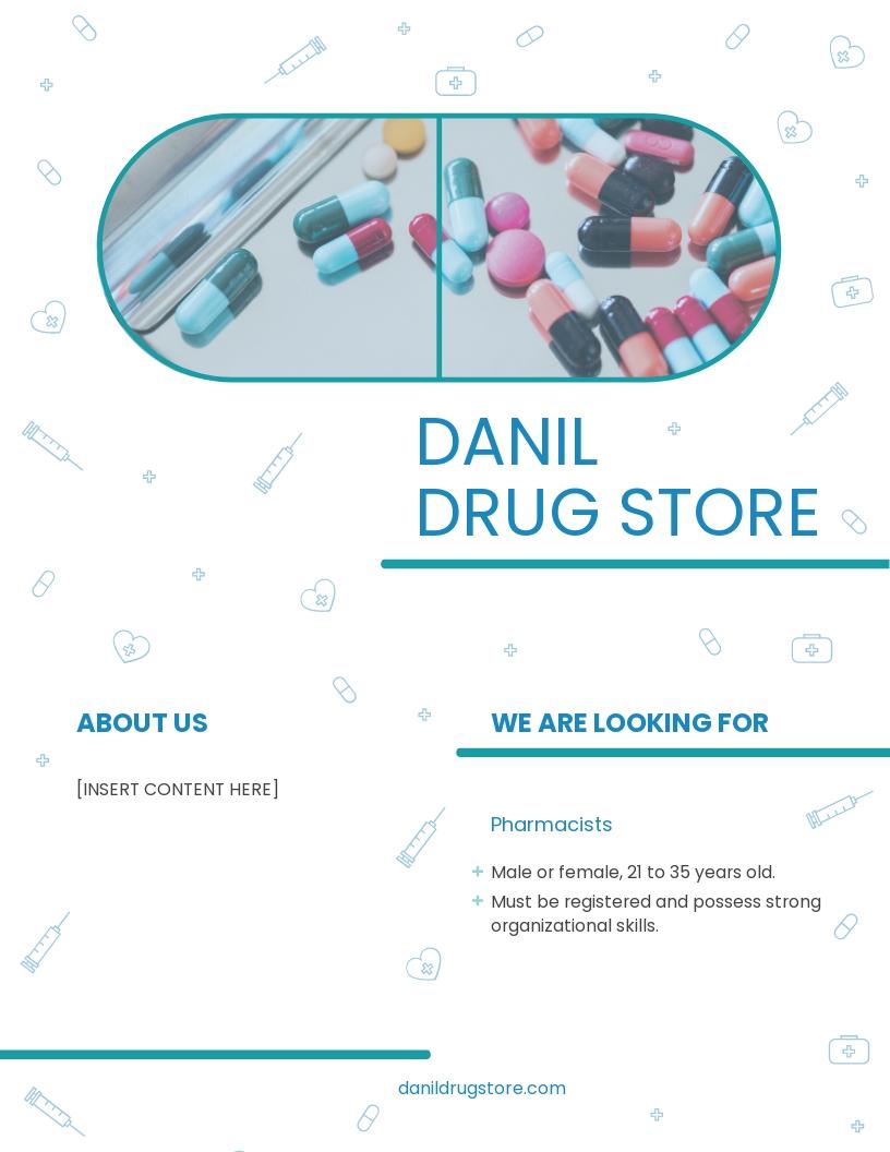 Drug Flyer Template