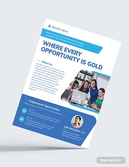 Employment Agency Flyer Download