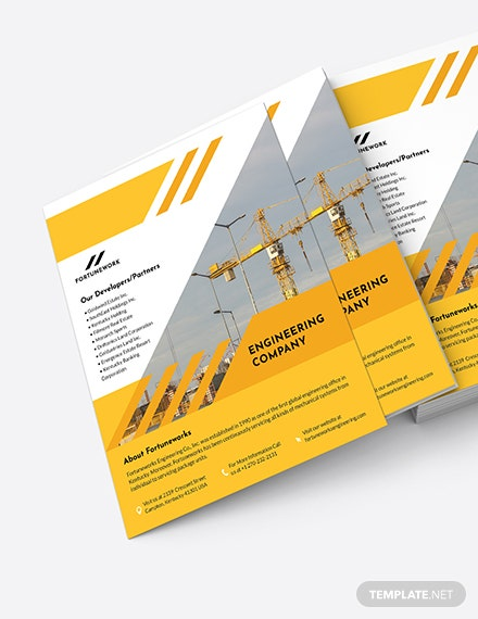 Engineering Company Flyer Download