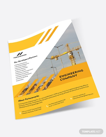 Sample Engineering Company Flyer