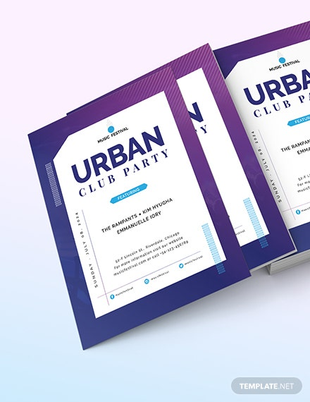 Futuristic Club Flyer Download
