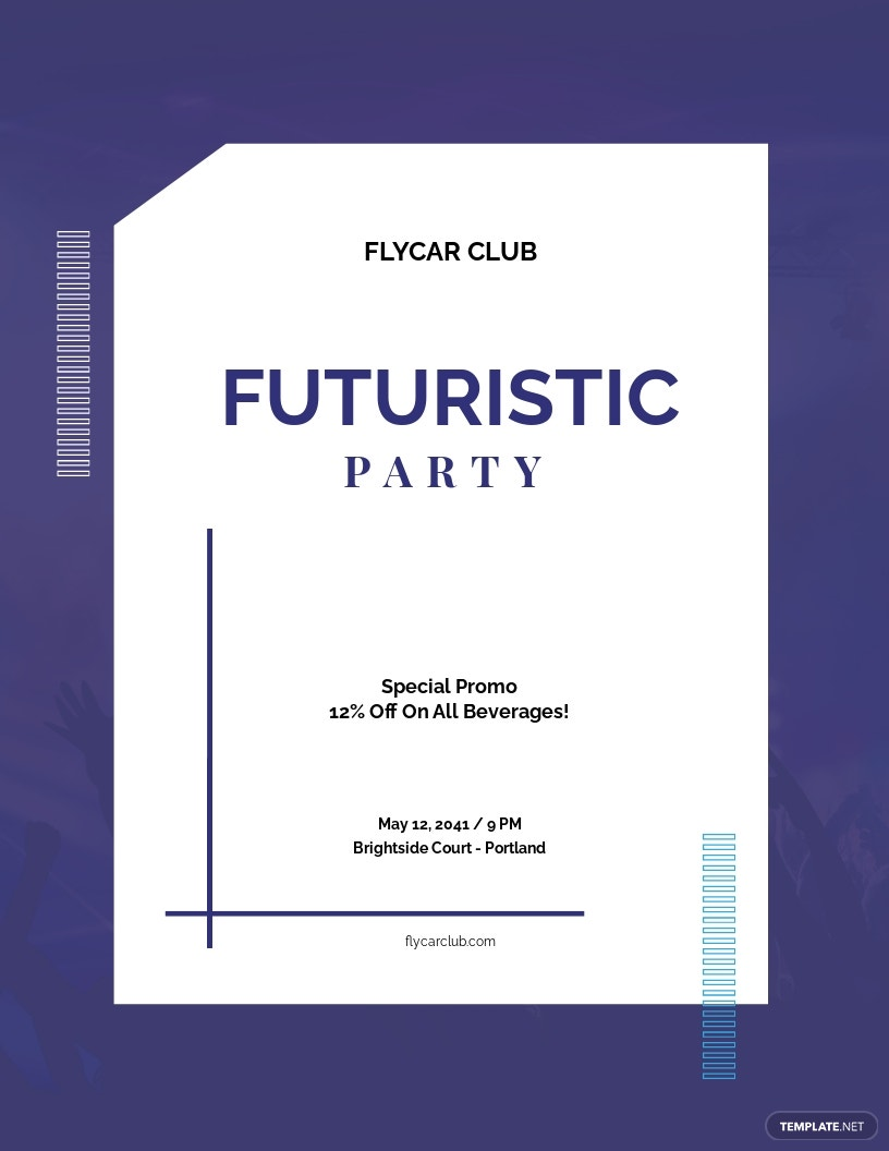 Futuristic Club Flyer Template