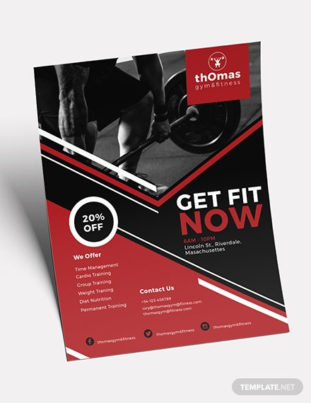 Health and Fitness Flyer Download