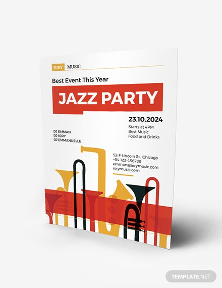 Jazz Flyer Download