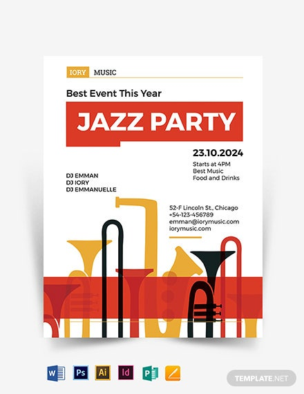 Jazz Flyer Template