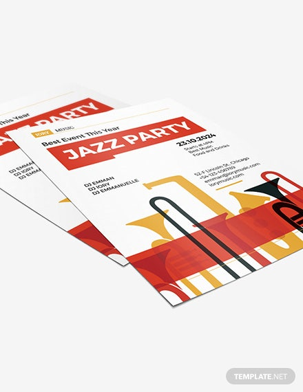 Sample Jazz Flyer