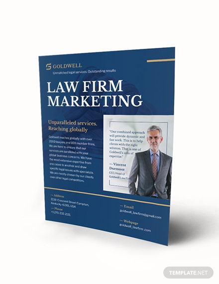 Law Firm Marketing Flyer Download