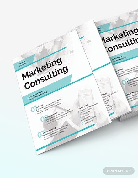 Business Marketing Consultant Flyer Download