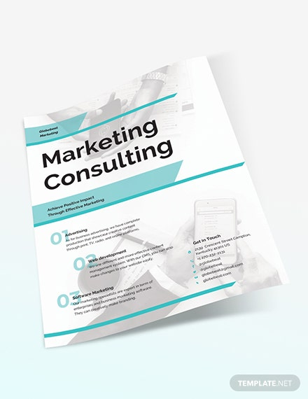 Sample Business Marketing Consultant Flyer