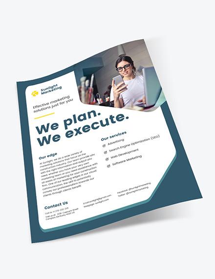Sample Marketing Business Flyer
