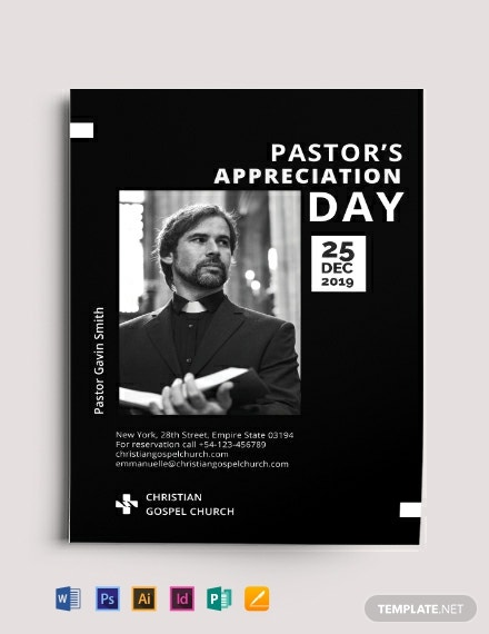 pastor appreciation flyer template 440x570 1