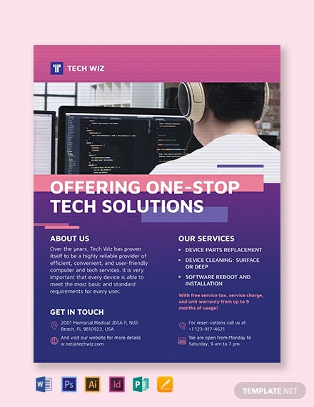 professional services flyer template 440x570 1