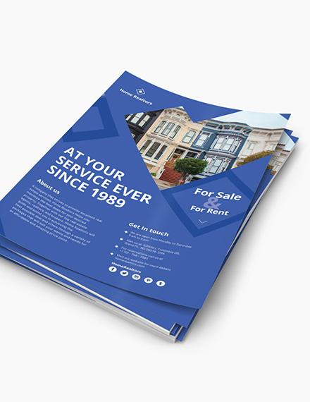 Customized Simple Realtor Flyer