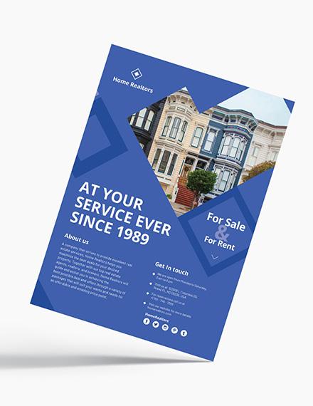 Simple Realtor Flyer Download