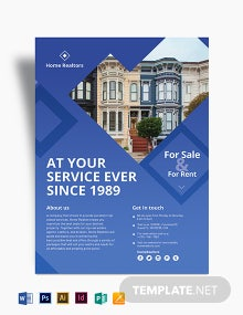 Simple Realtor Flyer Template