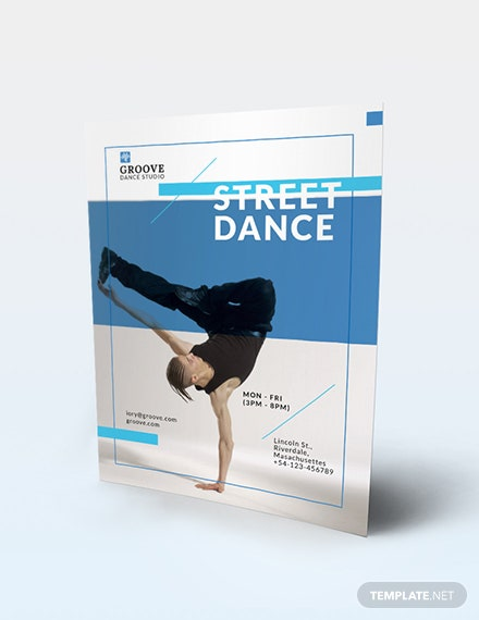 Street Dance Flyer Download