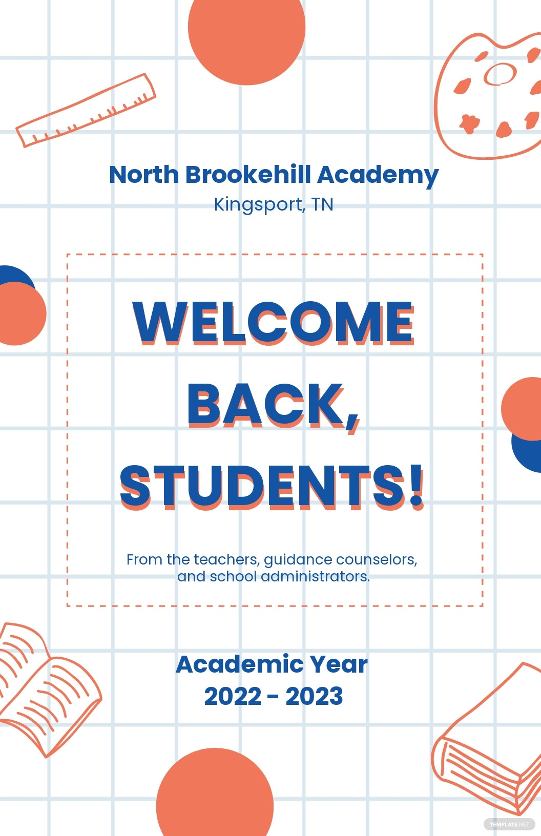 Back To School Poster Template.jpe