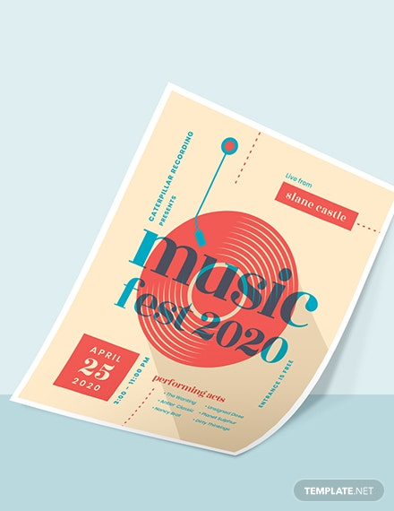 Sample Musical Event Poster