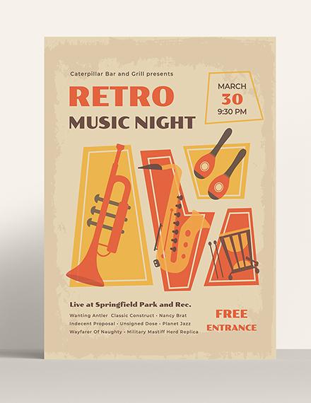 Sample Vintage Poster