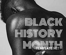 Free Black History Month Flyer Template